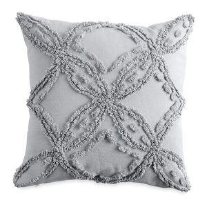 Peri Home Gray Metallic Chenille Pillow Nordstrom
